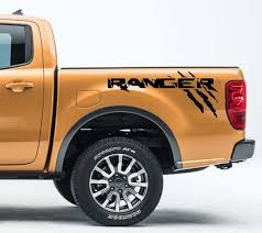 100 Ford Truck Emblems Product 2X FORD RANGER SIDE BED DECAL GRAPHICS EMBLEM LOGO
