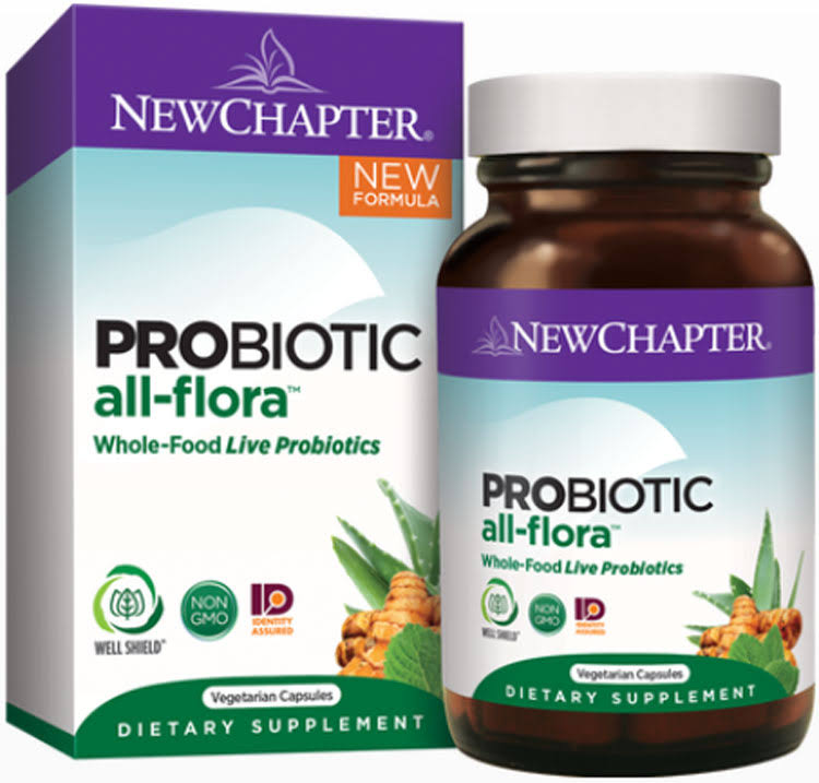 New Chapter Probiotic All Flora - 60 Capsules
