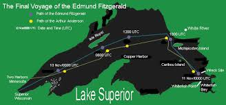 What Year Did The Edmund Fitzgerald Sank by Gc66hpm 29 Times It Rang Multi Cache In Michigan United States
