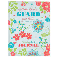 Guard Your Heart Coloring Book Journal