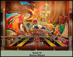 Denver International Airport Murals Meaning by Accountability For People Wow This Mural Belongs At Denver