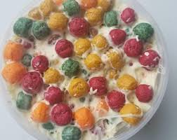 Fall Trix Cereal Slime