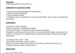 Accounts Receivable Resume From How To Do A Job Examples