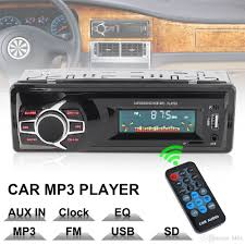 100 Truck Stereo System 12V LCD Display Car Radio MP3 Player Vehicle Audio In Dash