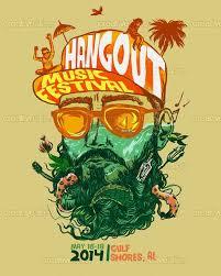 Hangout Music Festival Poster By Cucubaou On CreativeAllies