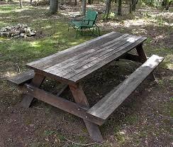 here 8 foot cedar picnic table plans diy wood plans