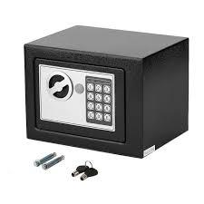 home mini coffre fort ignifuge de sécurité à serrure électronique