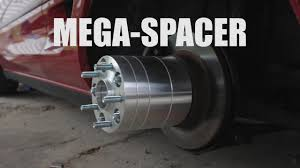 100 Truck Wheel Adapters MEGA SPACER YouTube