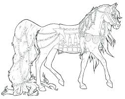 Spirit Horse Coloring Pages Of Horses Sheets Perfect Free And Rain