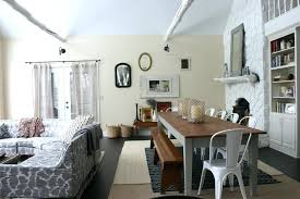 Modern Dining Table And Chairs Sets Room Farmhouse With Bench Eclectic Farm Image By Round Tables