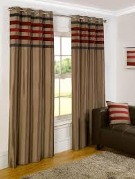 Living Room Curtains Kohls by Winsome Red And Brown Living Room Curtains Exciting The Most