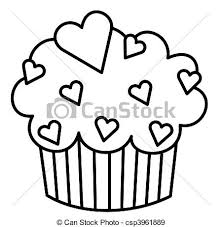 Heart Cupcake csp