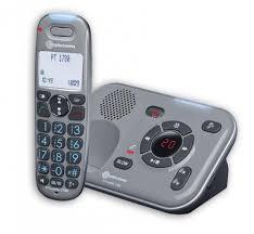 téléphone sans fil grosses touches powertel 1780