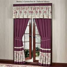 Jacobean Floral Design Curtains by Floral Curtains Touch Of Class