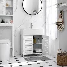 nancys carolina spüle unterschrank badmöbel badezimmerschränke schrank weiß 60 x 30 x 60 cm