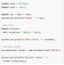 Java Math Ceil Example by How To Round To 2 Decimal Places In Java Study Com