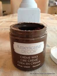 Americana Decor Creme Wax 8 Oz Clear by American Chalky Paint Tutorial American Decor Chalky Paint And Wax