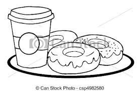 Amusing Coffee Cup Coloring Pages Of