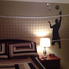 Boys Volleyball Bedroom Wall Decal From Amazon And Net WalMart