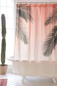 Walmart Curtain Rods Canada by Palms Shower Curtain Shower Curtains Ikea Perth Bathroom Ideas