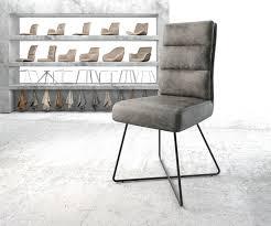esszimmerstuhl pela flex grau vintage x gestell schwarz delife eu möbel delife versandkostenfreie lieferung