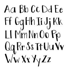 Best 25 Print fonts ideas on Pinterest