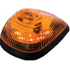 100 Marker Lights For Trucks Buyers 8892000 Set Of 5 9 LED Amber Strobe With