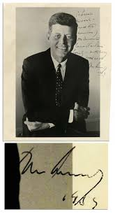 Jfk Rocking Chair Auction by John F Kennedy Autograph On A Pt 109 Document Sells For 14 670