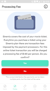 Sinemia Adds New $1.8 Processing Fee For Pre-Paid Movies ...