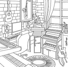 Color Therapy Music Room