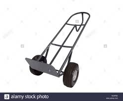 100 Hand Truck Vs Dolly Movers Dolly Aka Isolated On White Stock Photo 28659301