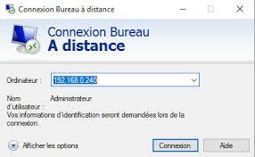raccourci connexion bureau à distance windows server ou windows connexion bureau à distance cbouba
