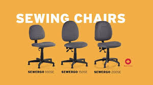 Reliable SewErgo Sewing Chairs