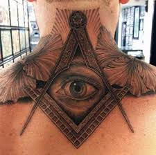 Back Neck Tattoos Are More Popular Then Front Or Side A Very Common Tattoo Design For Is The Eye