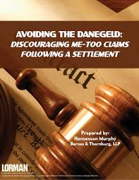 Avoiding the Danegeld Discouraging Me Too Claims Following a