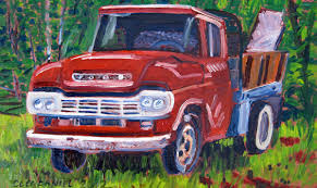 Red Ford Truck Painting | Real Art Is Better! Custom Paint On Truck Vehicles Contractor Talk Colorful Indian Truck Pating On Happy Diwali Card For Festival Large Truck Pating By Tom Brown Original Art By Tom The Old Blue Farm Pating Photograph Edward Fielding Randy Saffle In The Field Plein Air Adventures My Part 1 Buildings Are Cool Semi All Pro Body Shop Us Forest Service Tribute Only 450 Myrideismecom Tim Judge Oil Autos Pinterest Rawalpindi March 22 An Artist A