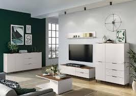 cary lowboard wohnzimmer kaschmir nussbaum