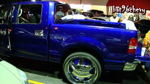 Candy Burple Ford F-150 Truck On 28