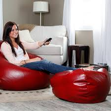 Comfortable Chair In Your Home With Bean Bag Chairs For Adults Elegant Red