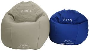 Amazon Bean Bag Chair Kid Size Personalized Embroidered Comfy