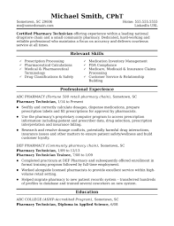 Midlevel Pharmacy Technician Resume Sample | Monster.com