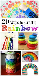 Fun Ways To Learn The Colors Of Rainbow 20 Craft Activities Ideas For Kids