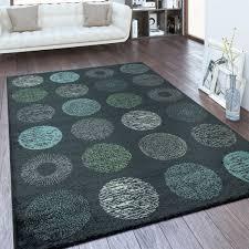 design teppich wohnzimmer kreis muster
