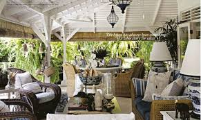 British Colonial Style Home Bali Pinter