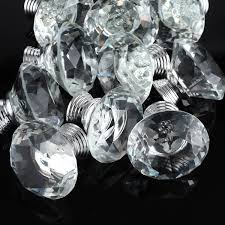 Tahari Home Lamps Crystal by 3s 10pcs 40mm Crystal Glass Diamond Shape Cabinet Knob Drawer Pull
