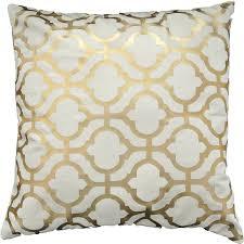 Amazon Gold Foil Geometric Print Decorative Throw Pillow COVER 18 Home Kitchen