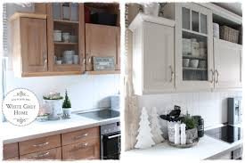 vorher nachher in einer landhausküche küchen streichen