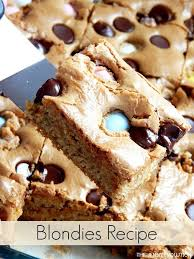 Blondies Recipe You Can Even Use Left Over Holiday Candy