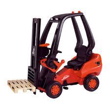 100 Toy Forklift Truck Big Linde Pedal Walmartcom