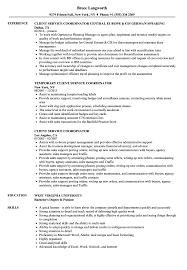 Download Client Service Coordinator Resume Sample As Image File